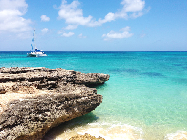 Aruba vacations are perfect year round with an average temperature of 82F.