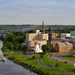 attractions in New Brunswick: downtown Fredericton