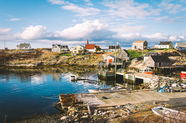 attractions in nova scotia peggy's cove