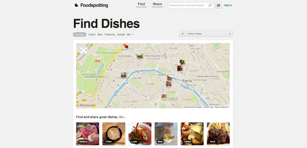 TripSense_Foodspotting