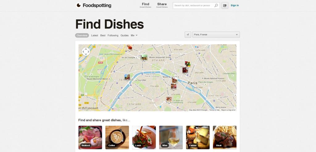 TripSense_Foodspotting