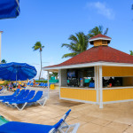 Breezes Bahamas pool patio and restaurant