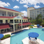 The Breezes Bahamas features 3 pools and a jacuzzi