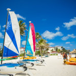 Watersports are offered at the Breezes Bahamas to guests, included in the price