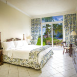 Gardenview room at the Breezes Bahamas