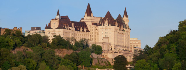 Historic Fairmont hotels in Canada