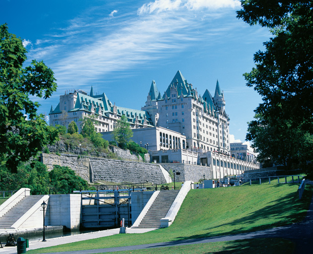 The Fairmont Chateau Laurier is one of the most historic Fairmont hotels