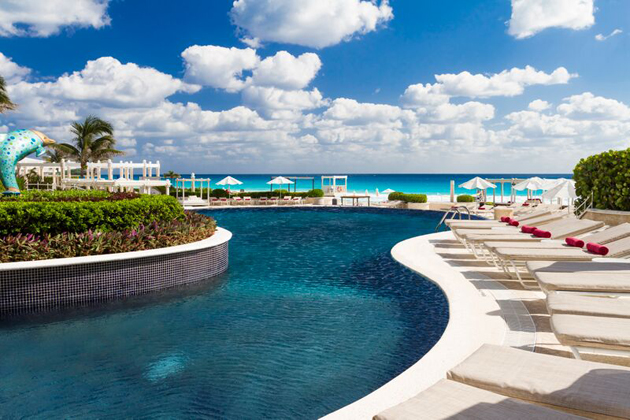 The Sandos hotels Cancun Luxury Resort is one of the brand's eco experience resorts