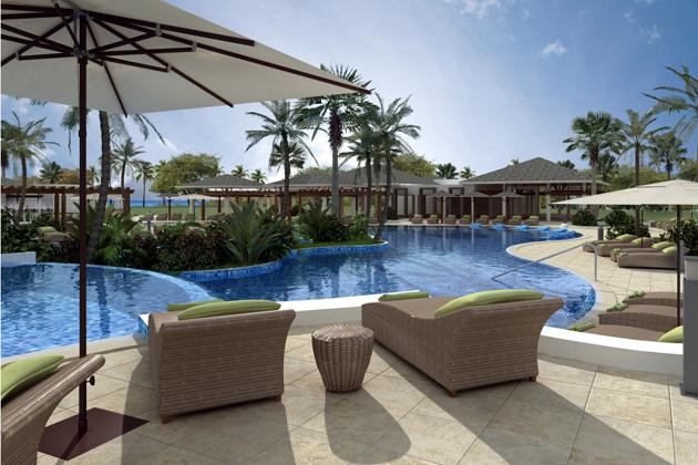 Warwick Cayo Santa Maria pool view