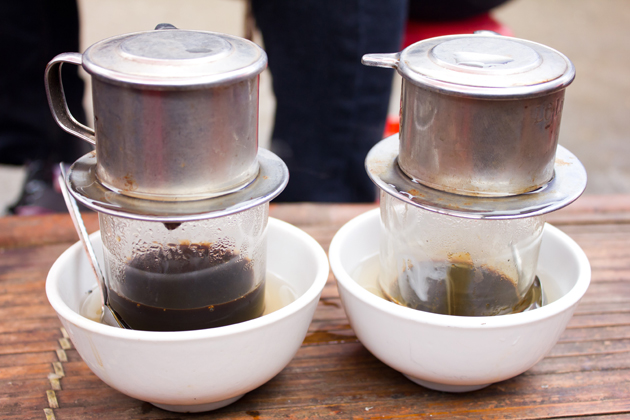 Enjoy coffee from around the world including Vietnamese coffee sweetened with condensed milk