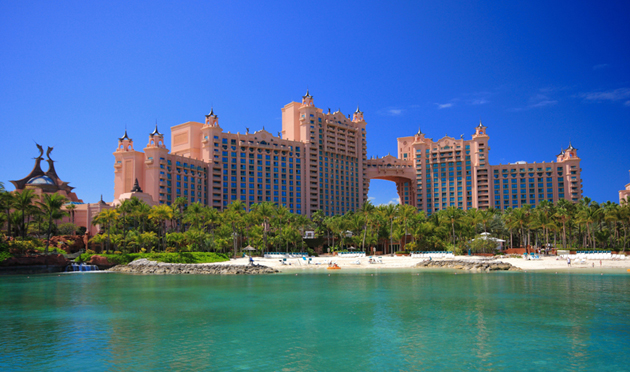 The Atlantis resort Nassau is on the top of our Nassau travel guide list for accommodations and attractions