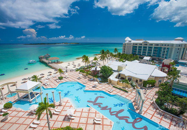 The Sandals Royal Bahamian is an accommodation option on our Nassau travel guide list
