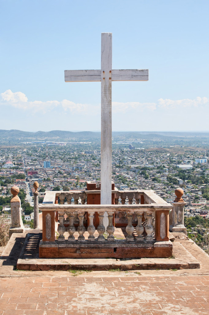 Cross on La Lomadela Cruz overlooking Holguin