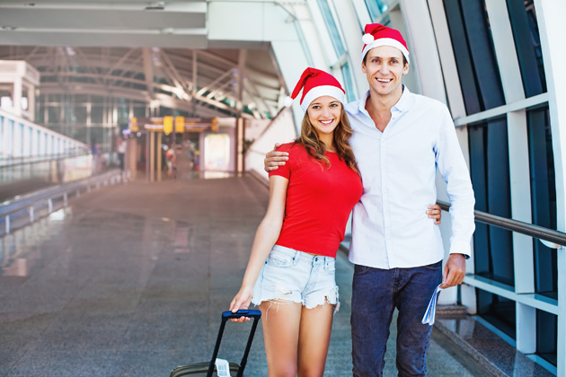 Avoid holiday airport stress by arriving early for your flight