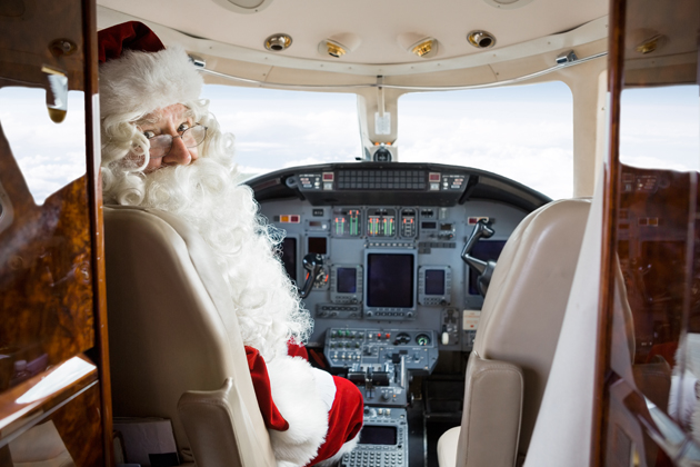 Avoid holiday airport stress by travelling on Christmas Day when crowds are fewer