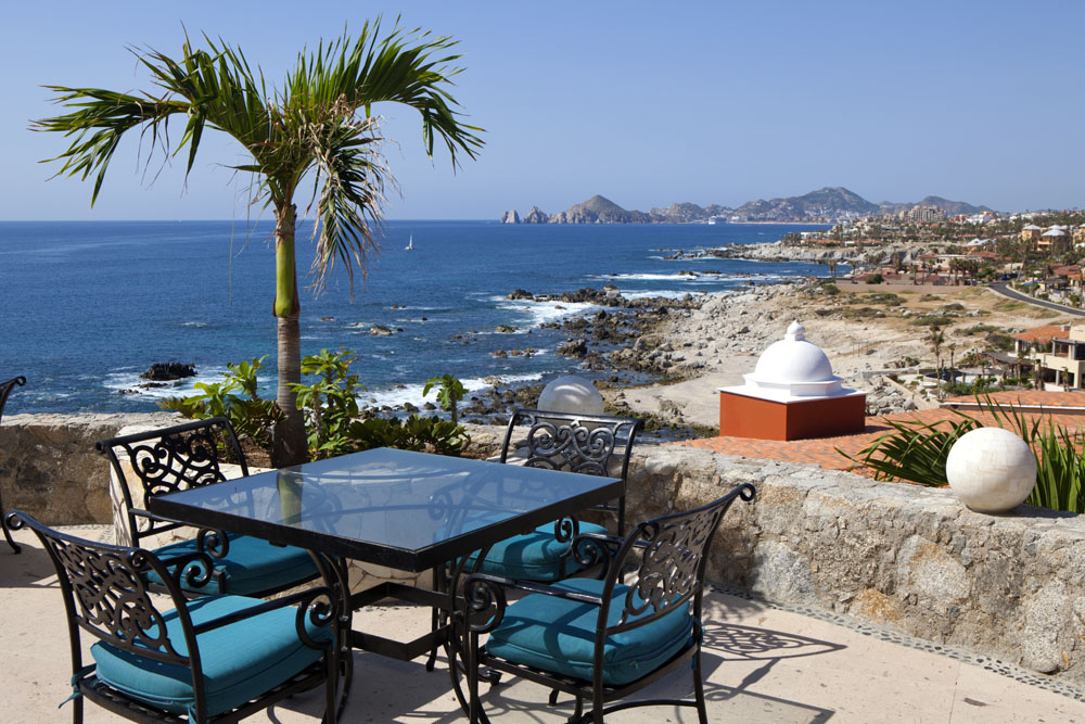 VIew of Cabo San Lucas and Lands End