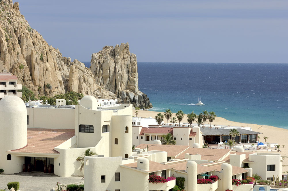 Cabo San Lucas beside Finesterra Rock