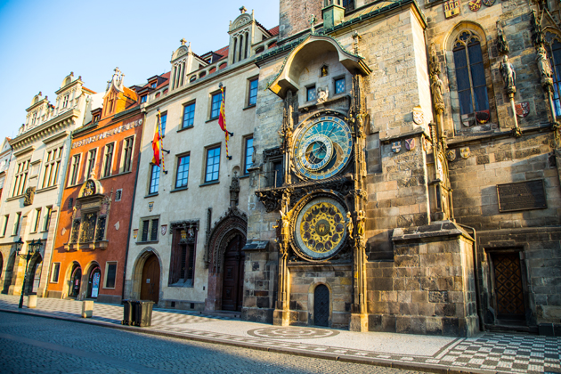 Astronomical Clock in Prague, featured in the Amadeus movie best travel movies
