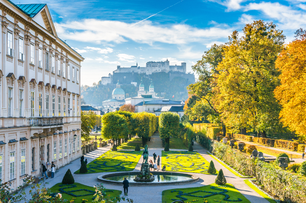 Mirabell Gardens in the Sound of Music best travel movies