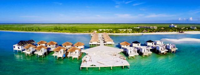 El Dorado Maroma's new Palafitos overwater bungalows