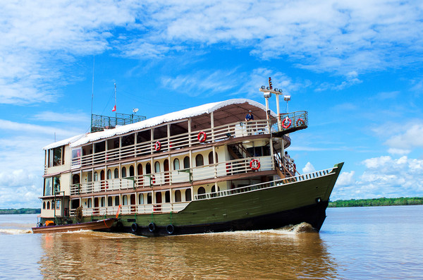 G Adventures Amazon river cruise