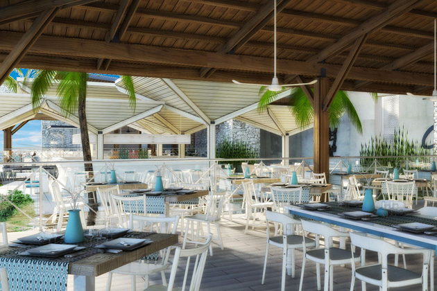 Royalton Blue Waters dining
