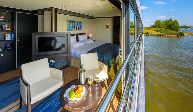 Panoramic Suite on Avalon River Cruise boat