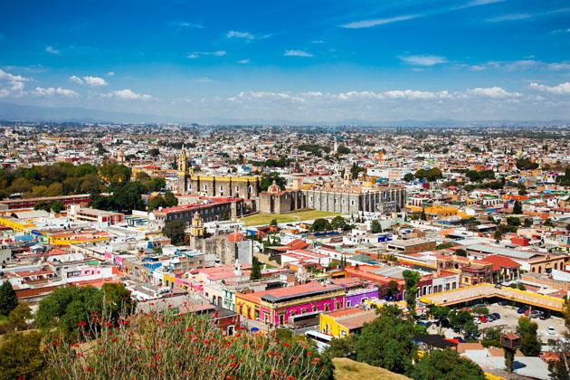 Puebla Mexico has the largest Cinco de Mayo celebration