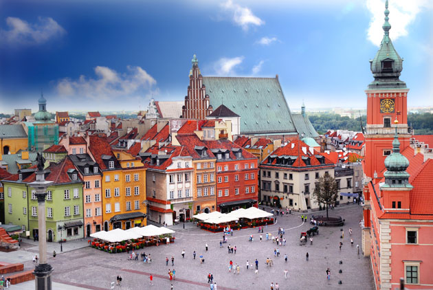 Travel Europe cheap and visit eastern Europe