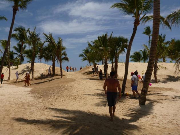 Riu Republica beach