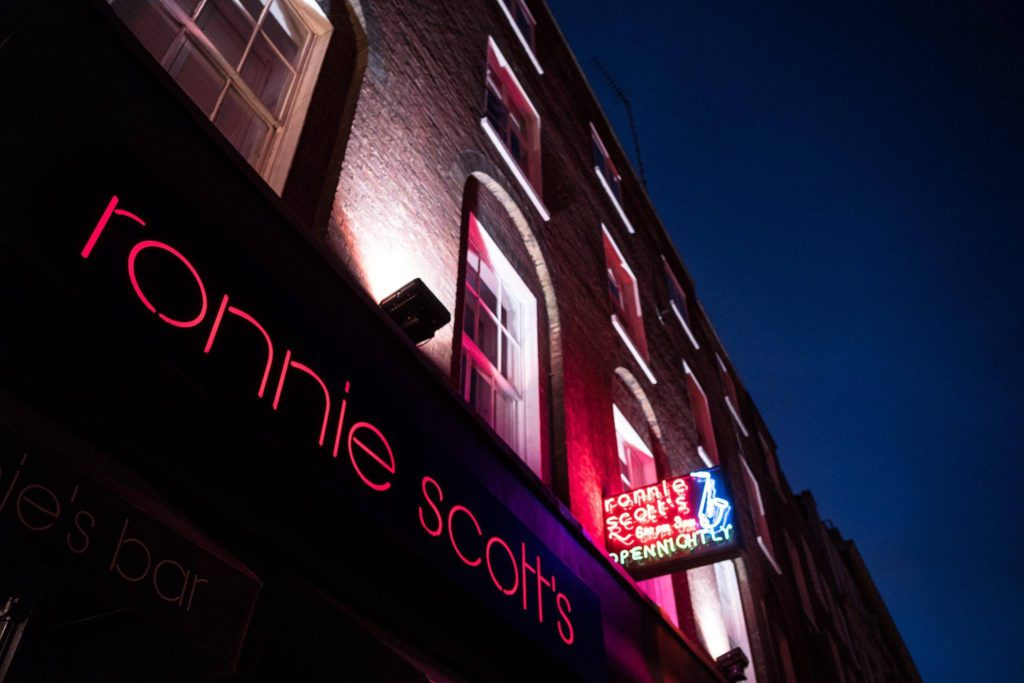 Ronnie Scott's. Photo Credit Ronnie Scott's Facebook
