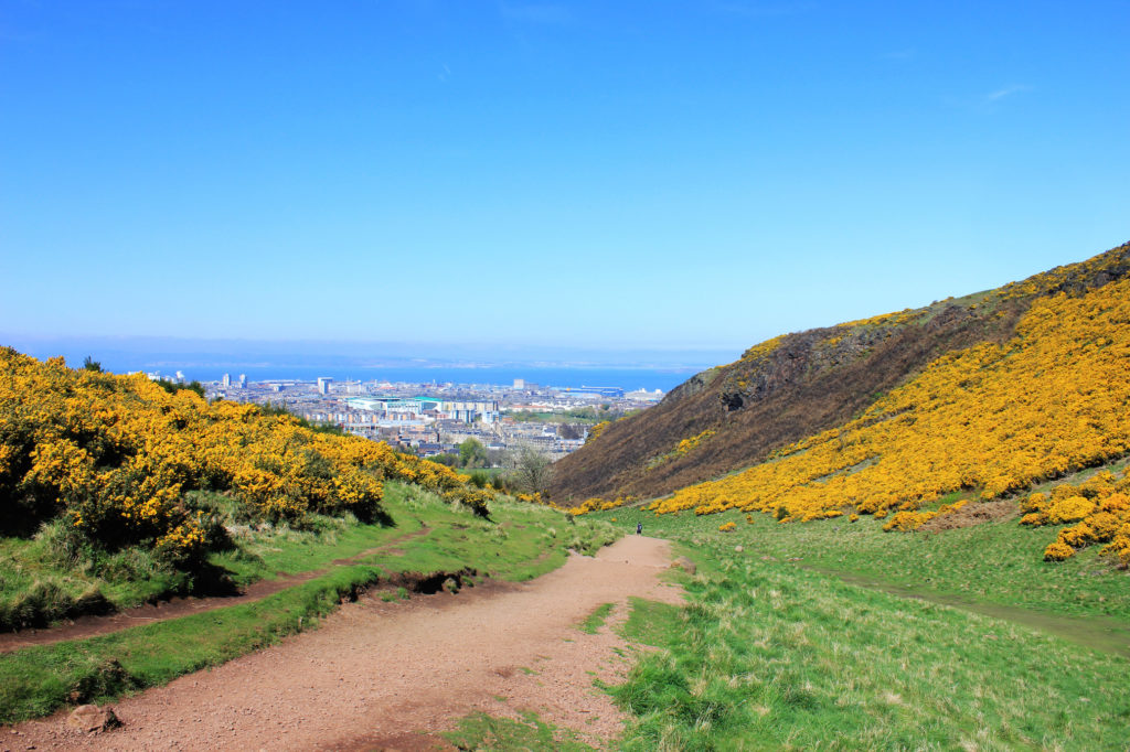 Holyrood Park. Photo Credit Man I Am in Amsterdam