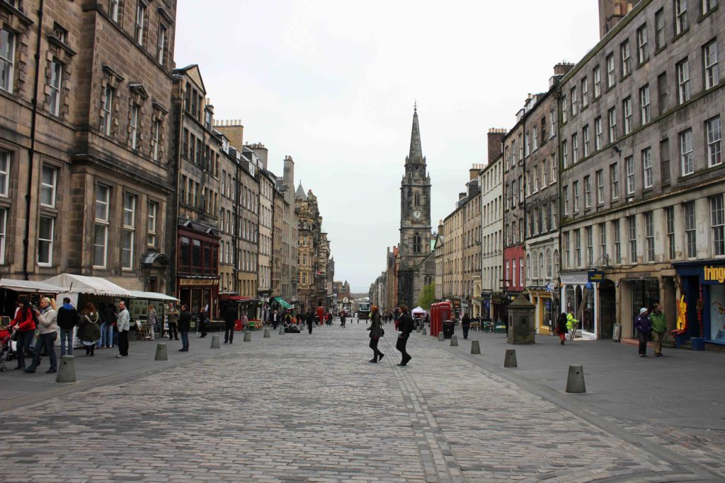Royal Mile. Photo Credit A Man I Am in Amsterdam