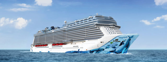 Norwegian Bliss cruise ship launches summer 2018
