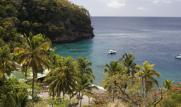 Grand Anse beach - St. Lucia