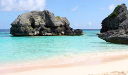 Step foot onto stunning pink sand beaches in Bermuda