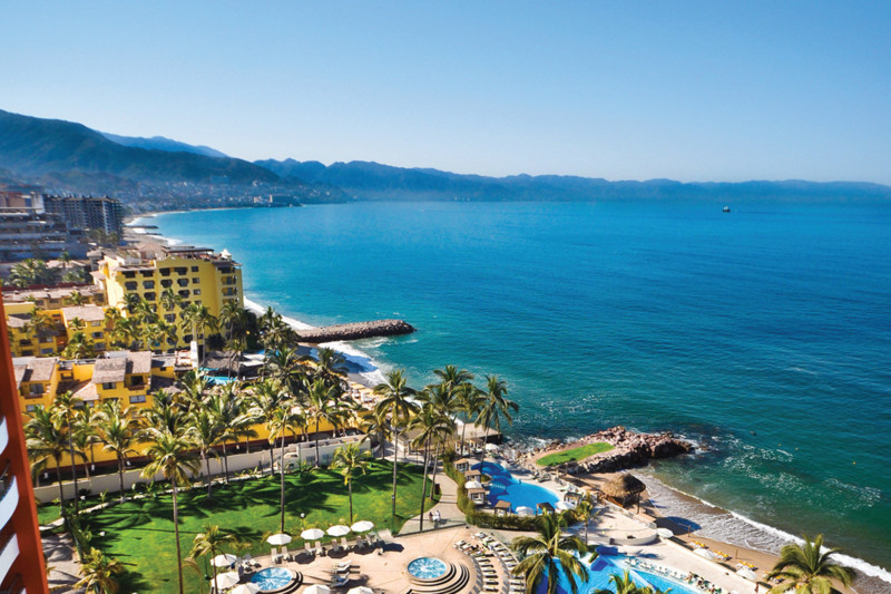 Sunset Plaza Beach Resort Spa Puerto Vallarta Mexico