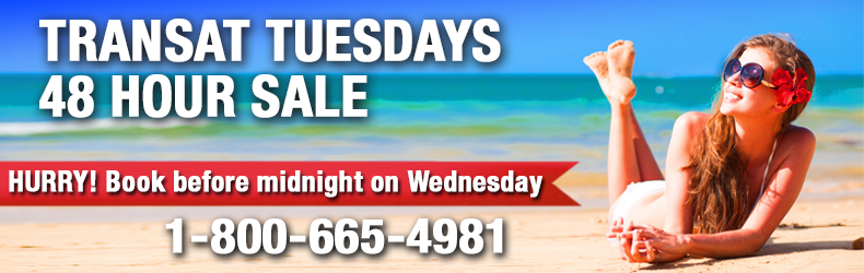 transat tuesdays travel deals