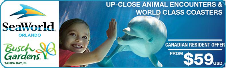Sea World Busch Gardens